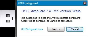 Отключение антивируса в Safeguard