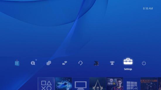 Подключение к Wi-Fi Playstation 4