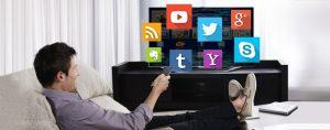 Сервисы доступные пользователям Smart TV